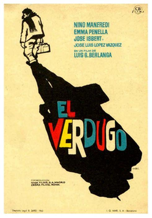 Cartel oficial en español de: El verdugo