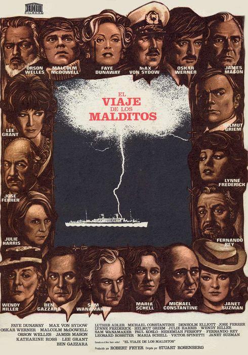 Cartel oficial en español de: El viaje de los malditos