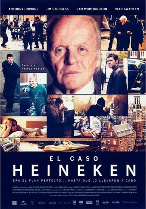 Cartel oficial en español de: El caso Heineken