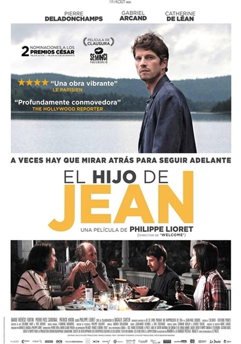 Cartel oficial en español de: El hijo de Jean