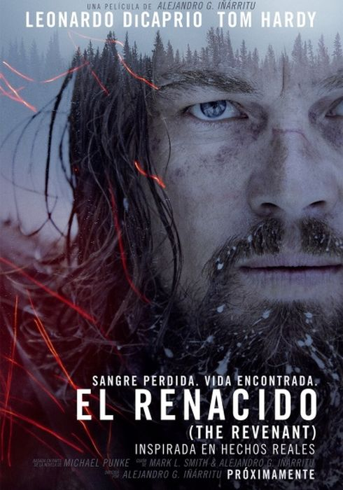Cartel oficial en español de: El renacido