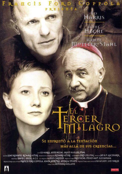 Cartel oficial en español de: El tercer milagro