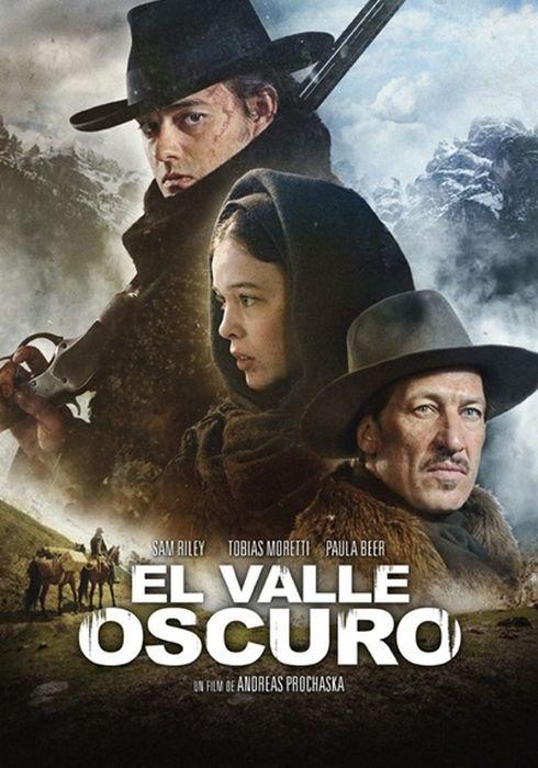 Cartel oficial en español de: El valle oscuro