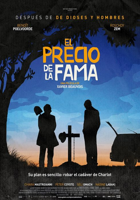Cartel oficial en español de: El precio de la fama