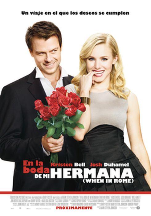 Cartel oficial en español de: En la boda de mi hermana