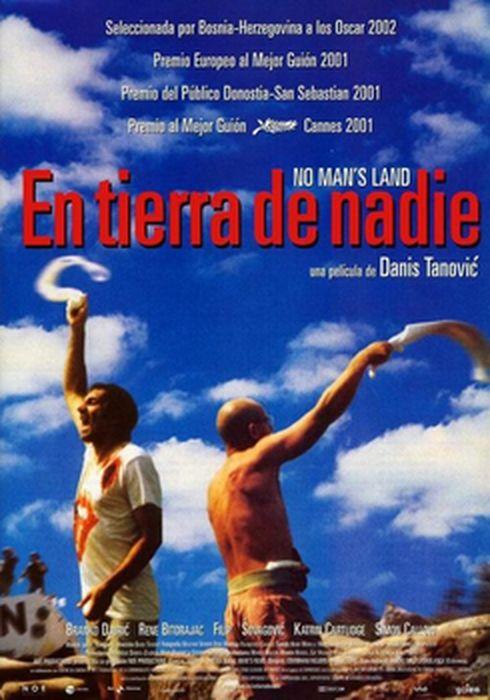 Cartel oficial en español de: En tierra de nadie