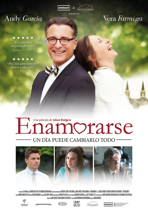 Cartel oficial en español de: Enamorarse