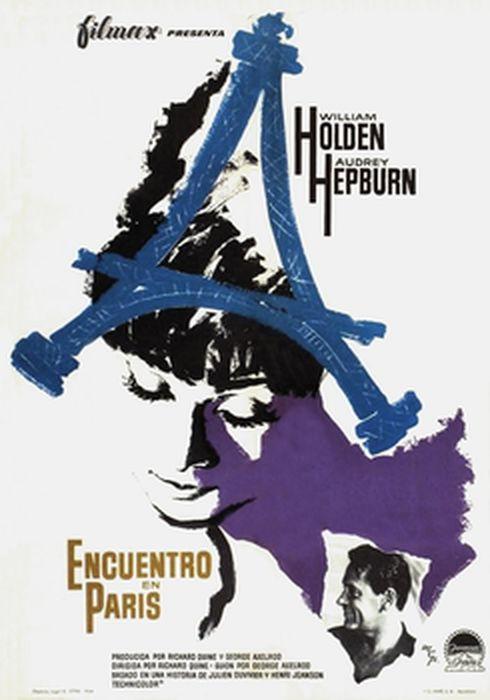 Cartel oficial en español de: Encuentro en París