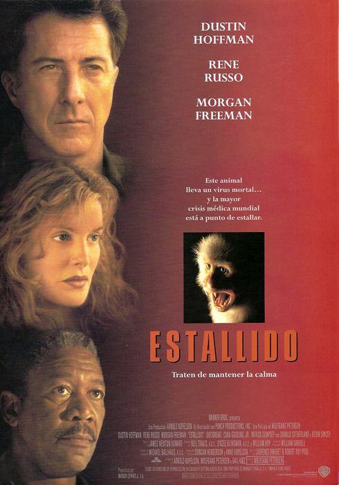 Cartel oficial en español de: Estallido