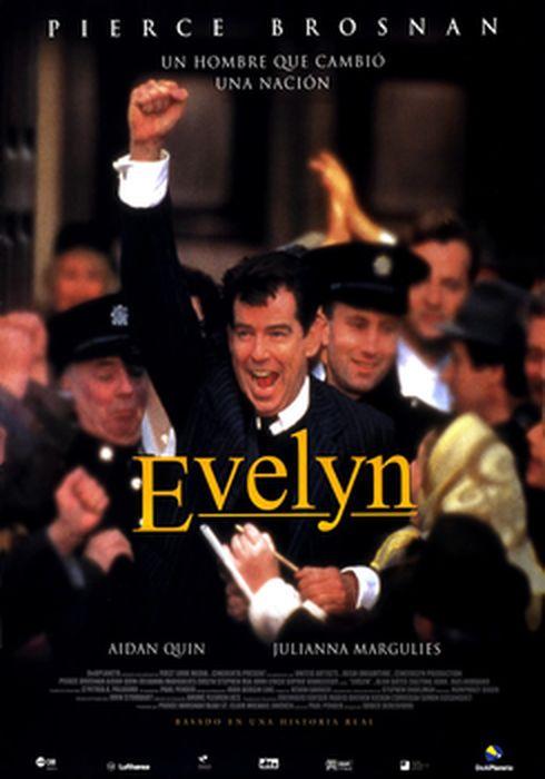 Cartel oficial en español de: Evelyn (2002)