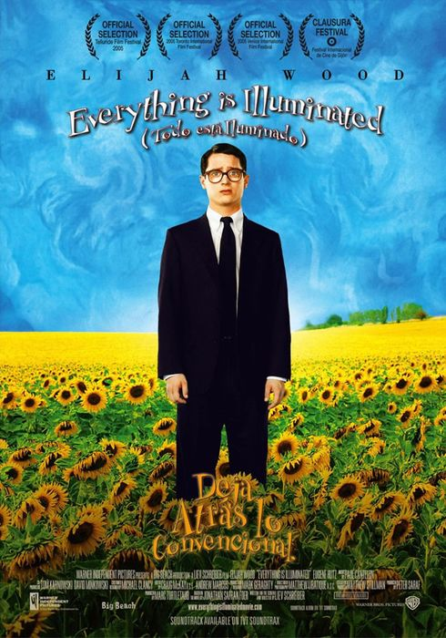Cartel oficial en español de: Everything Is Illuminated (Todo está iluminado)