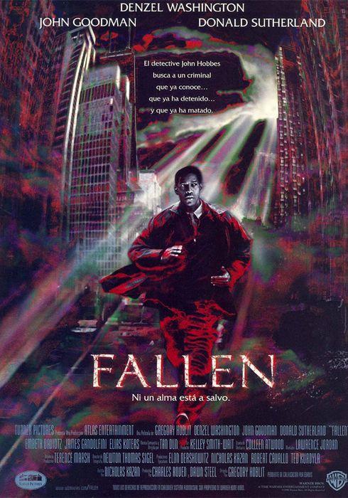Cartel oficial en español de: Fallen