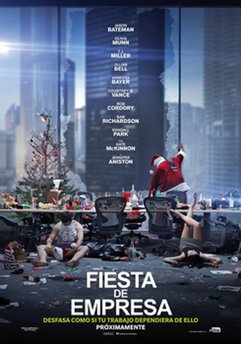 Cartel oficial en español de: Fiesta de empresa