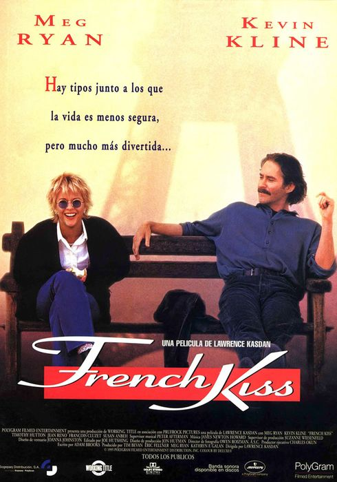Cartel oficial en español de: French Kiss