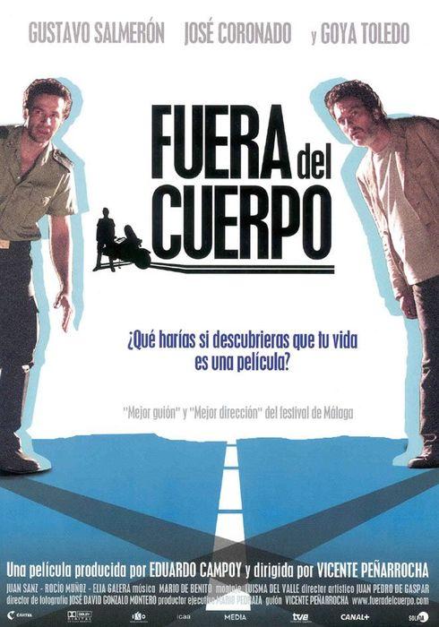 Cartel oficial en español de: Fuera del cuerpo