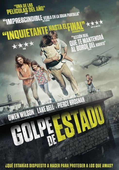 Cartel oficial en español de: Golpe de Estado