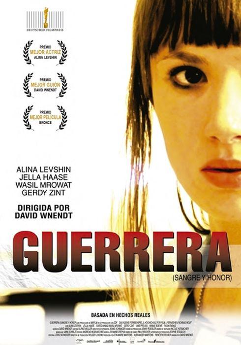 Cartel oficial en español de: Guerrera (Sangre y honor)