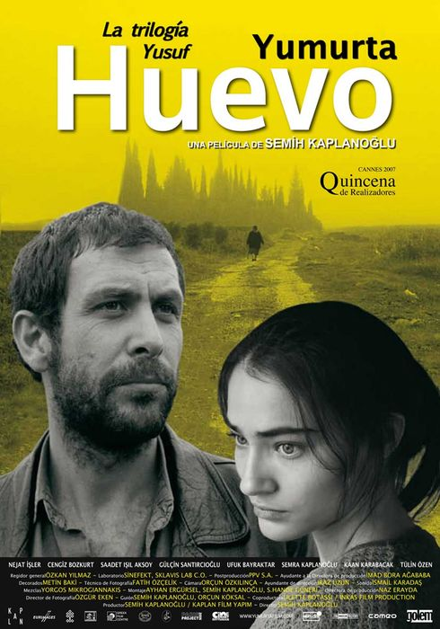 Cartel oficial en español de: Huevo