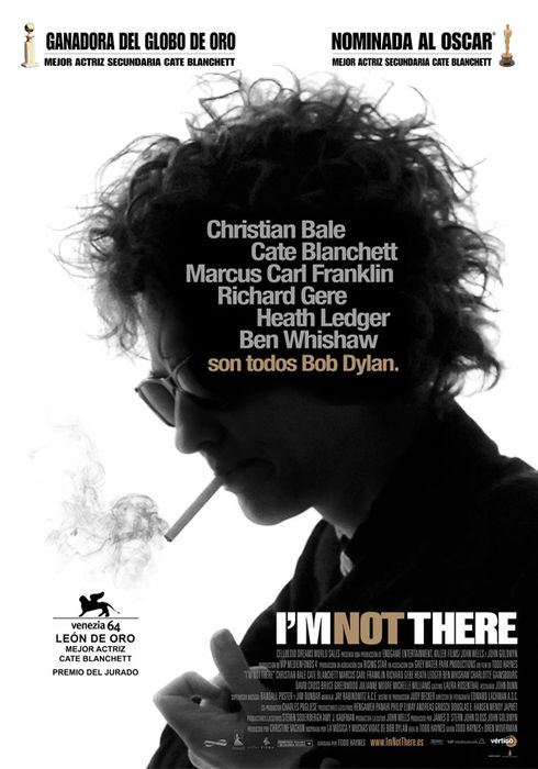 Cartel oficial en español de: I'm not there