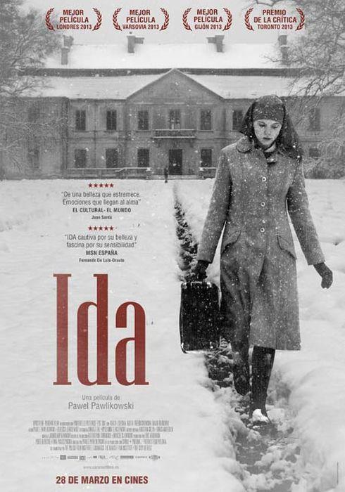 Cartel oficial en español de: Ida