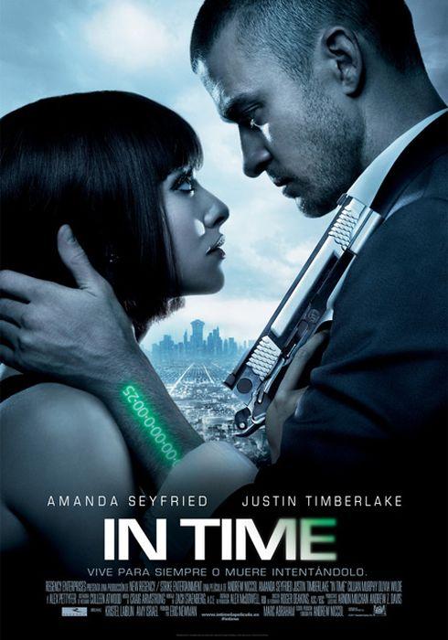Cartel oficial en español de: In Time