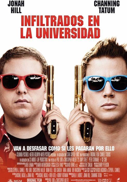 Cartel oficial en español de: Infiltrados en la universidad