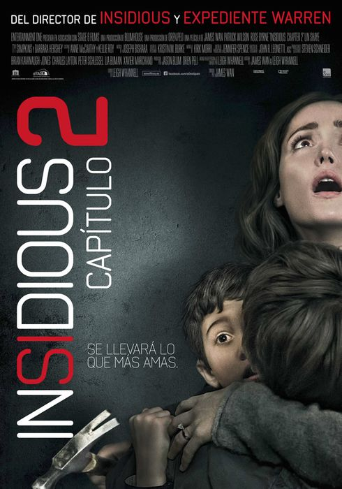 Cartel oficial en español de: Insidious: Capítulo 2