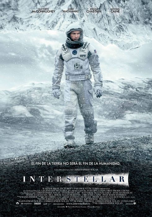 Cartel oficial en español de: Interstellar
