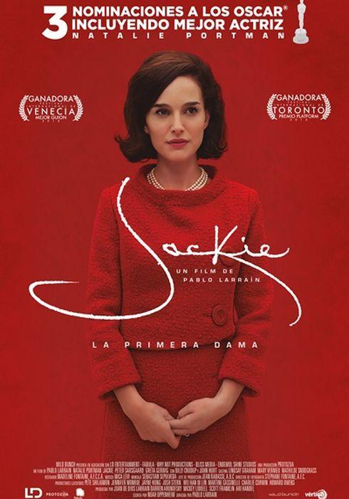 Cartel oficial en español de: Jackie