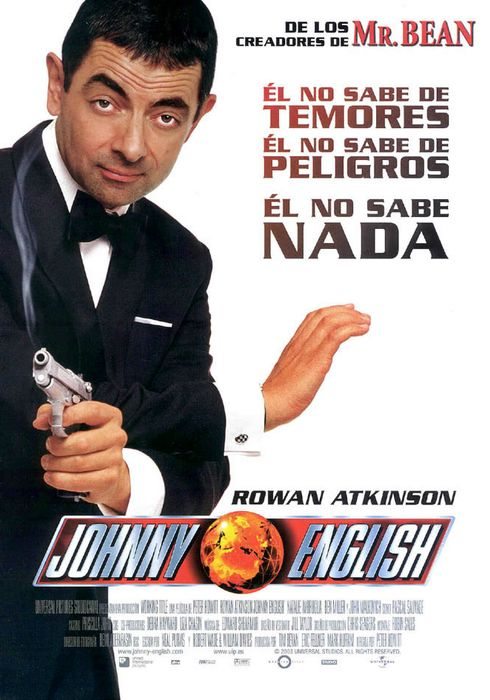 Cartel oficial en español de: Johnny English