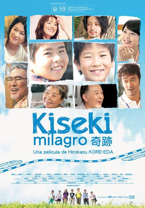 Cartel oficial en español de: Kiseki (Milagro)