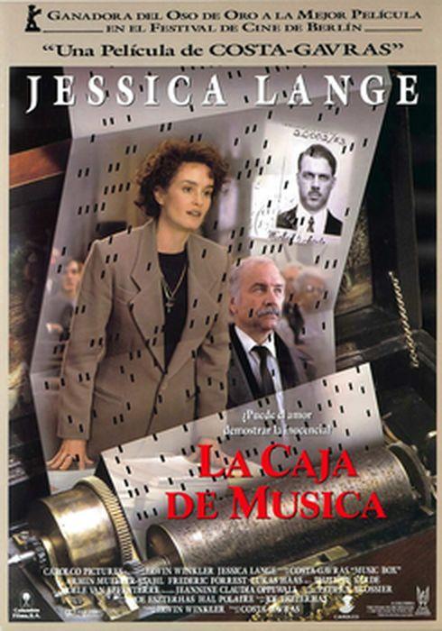 Cartel oficial en español de: La caja de música