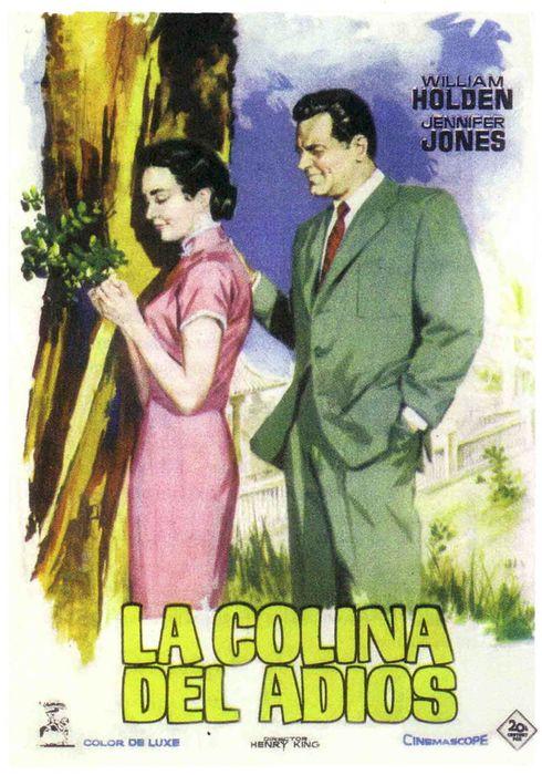 Cartel oficial en español de: La colina del adiós