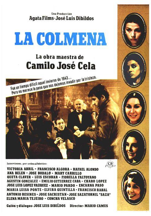 Cartel oficial en español de: La colmena