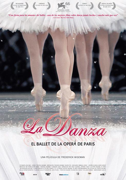 Cartel oficial en español de: La danza
