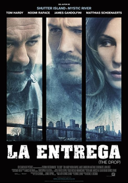 Cartel oficial en español de: La entrega (The Drop)