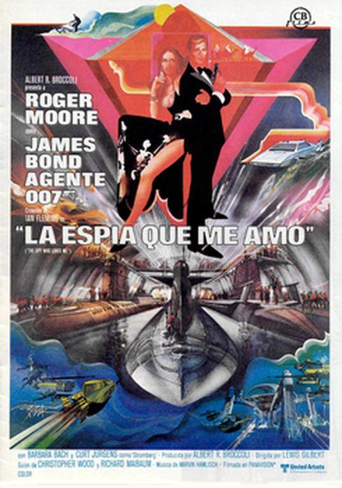 Cartel oficial en español de: La espía que me amó (10)