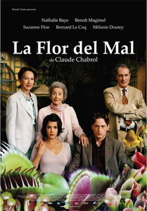 Cartel oficial en español de: La flor del mal (2003)