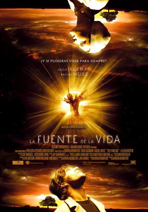 Cartel oficial en español de: La fuente de la vida