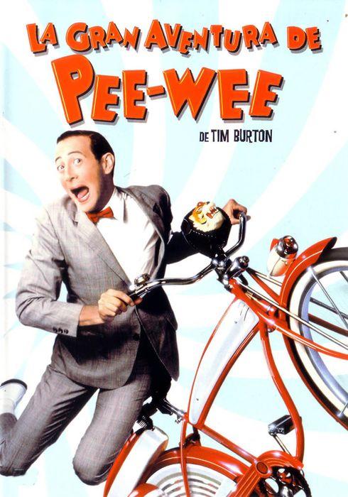 Cartel oficial en español de: La gran aventura de Pee-Wee