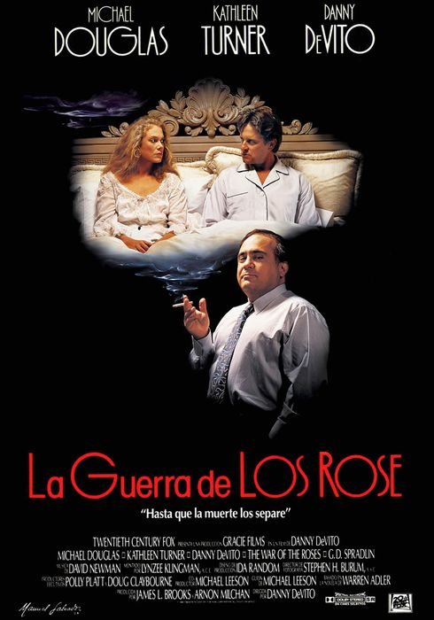 Cartel oficial en español de: La guerra de los Rose