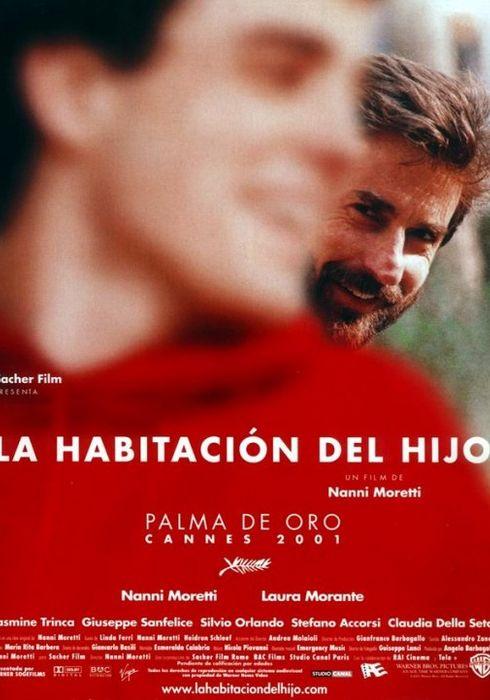 Cartel oficial en español de: La habitación del hijo