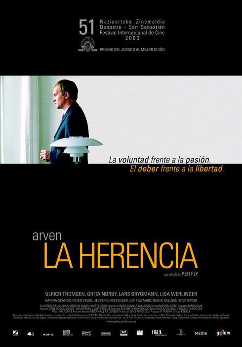 Cartel oficial en español de: La herencia