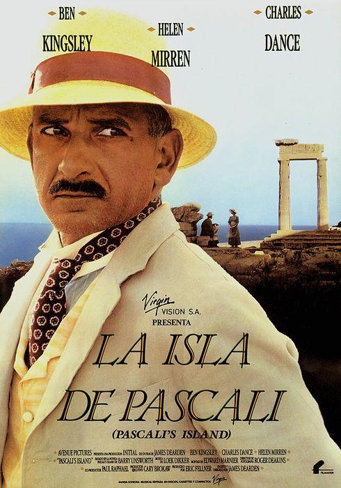 Cartel oficial en español de: La isla de Pascali