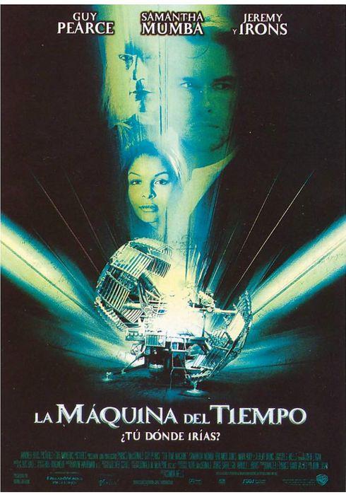 Cartel oficial en español de: La máquina del tiempo