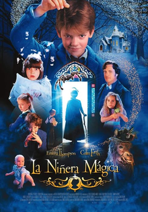 Cartel oficial en español de: La niñera mágica
