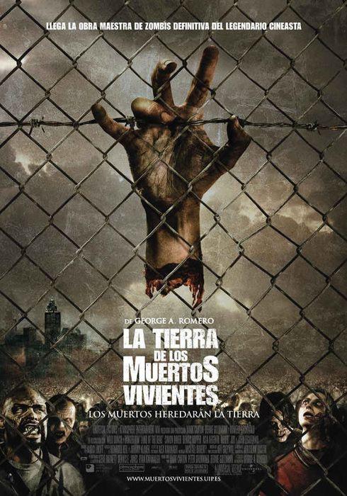 Cartel oficial en español de: La tierra de los muertos vivientes
