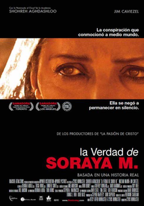 Cartel oficial en español de: La verdad de Soraya M.