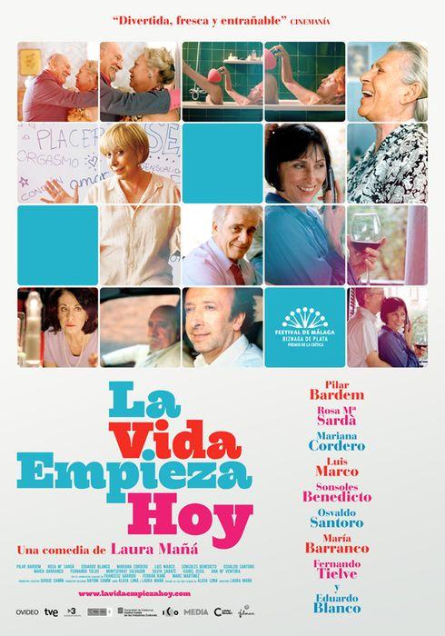 Cartel oficial en español de: La vida empieza hoy