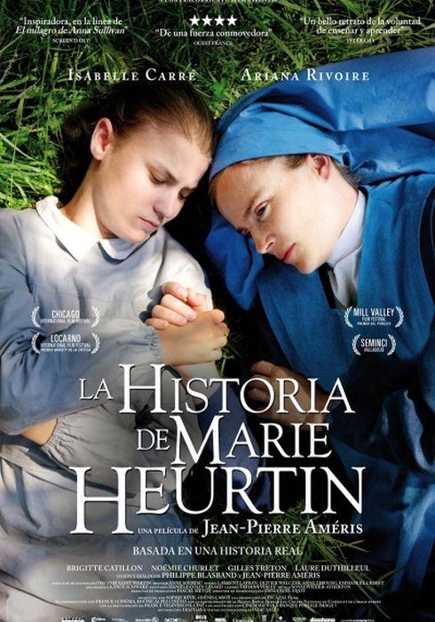 Cartel oficial en español de: La historia de Marie Heurtin